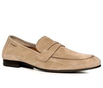 Schuhe Loafers Veloursleder ,braun