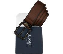 Gürtel cognac Breite ca. 3,5cm
