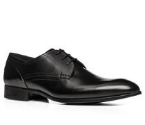 Schuhe Derby Glattleder