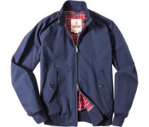 Jacke Blouson Baumwolle COOLMAX® tintenblau