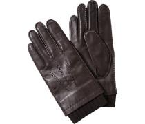 Herren  Handschuhe Lammleder schokobraun