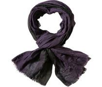 Herren  Schal Microfaser-Baumwoll-Mix violett-anthrazit