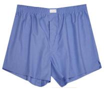 Herren Unterwäsche Boxer-Shorts Fil-à-Fil blau
