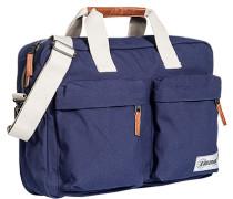 Tasche Laptoptasche, Microfaser, navy