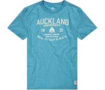 T-Shirt Baumwolle hellblau