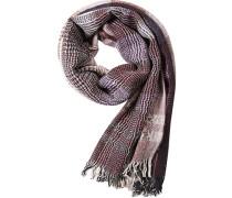 Schal, Leinen-Wolle