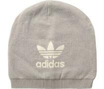 Mütze Baumwolle hellgrau