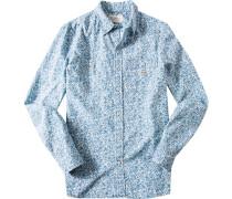 Hemd Baumwolle gemustert