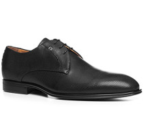 Herren Schnürschuhe Leder schwarz gemustert schwarz,braun,schwarz