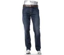 Jeans Stone Modern Fit Baumwoll-Stretch denim