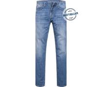 Blue-Jeans Modern Fit Baumwoll-Stretch
