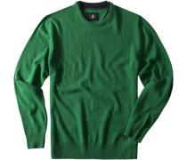 Pullover Merlin Schurwolle moosgrün
