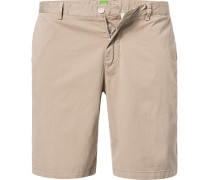 Hose Bermudashorts Regular Fit Baumwolle