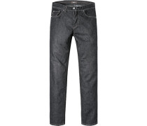 Jeans Classic Fit Baumwoll-Stretch anthrazit