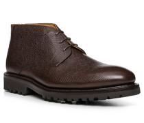 Schuhe Schnürstiefelette, Kalbleder,