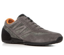 Schuhe Sneaker Veloursleder ,orange