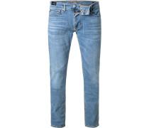 Jeans Herren, Baumwoll-Stretch