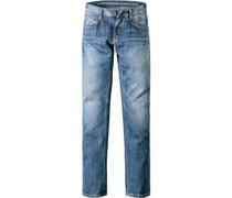 Jeans Slim Fit Baumwolle 11,5oz hellblau