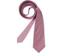 Herren Krawatte  rosa