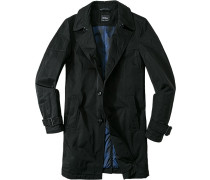 Mantel Polyester wattiert ,blau