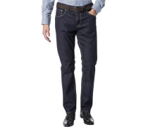 Herren Jeans Berry Modern Fit Denim-Stretch nachtblau