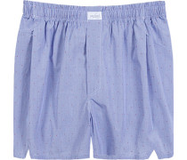 Unterwäsche Boxer-Shorts, Baumwolle, -weiß kariert