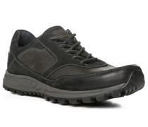 Schuhe Sneaker Leder anthrazit-