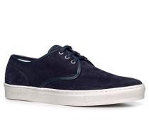Schuhe Sneaker Veloursleder nachtblau