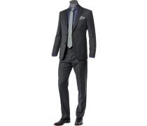 Anzug, Modern Fit, Schurwolle Super130, anthrazit meliert