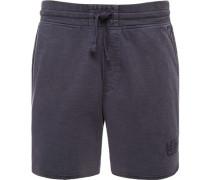 Hose Shorts Sweat dunkelblau meliert
