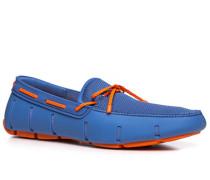 Schuhe Loafer Mesh-Kautschuk azurblau