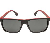 Brillen Sonnenbrille Metall-Kunststoff -rot