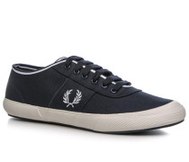 Schuhe Sneaker Baumwolle marine