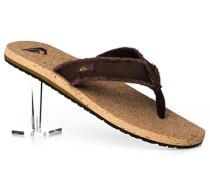 Schuhe Zehensandalen Canvas