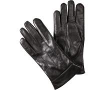 Handschuhe, Leder, dunkelbraun