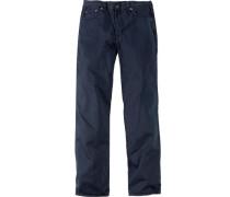 Herren Jeans St. Germain Classic Comfort Fit Baumwolle navy blau