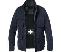 Jacke, Microfaser mit Weste/Taschenmesser, dunkelblau