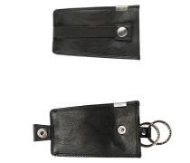Herren   Schlüsseltasche Leder schwarz