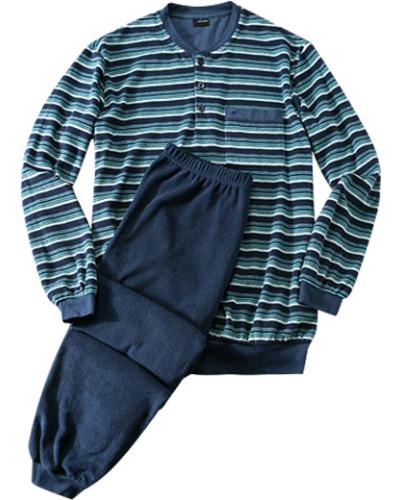 seidensticker herren herren schlafanzug pyjama frottee. Black Bedroom Furniture Sets. Home Design Ideas