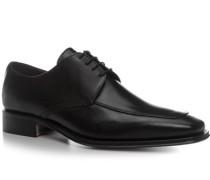 Herren Schnürschuhe Leder schwarz schwarz,grau