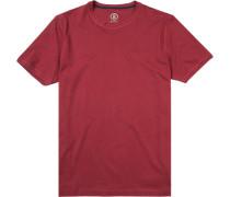 T-Shirt Baumwolle bordeaux