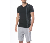 T-Shirt Baumwolle-Modal dunkelgrau
