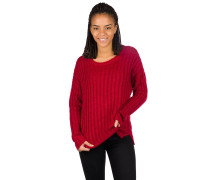 Pana Crew Pullover jester red