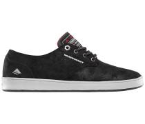 Romero Laced X Indy Skateschuhe schwarz