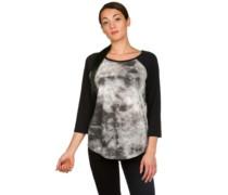 Moon Rise 3/4 Raglan Sleeve T-Shirt true black