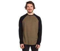 Portman Henley T-Shirt LS black