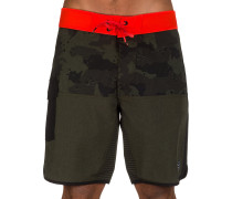 Camino Spliced Boardshorts grün