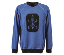 Arrows Sweater blau