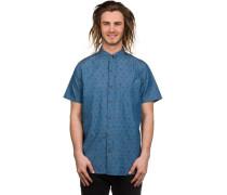 Stafford Hemd blau