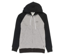 Balance Zip Hoodie black heather